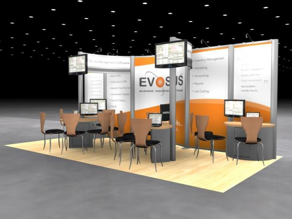 DM-0565 Trade Show Exhibit -- 10' x 20' Version