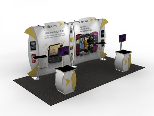 VK-2903 Trade Show Display -- 10 x 20