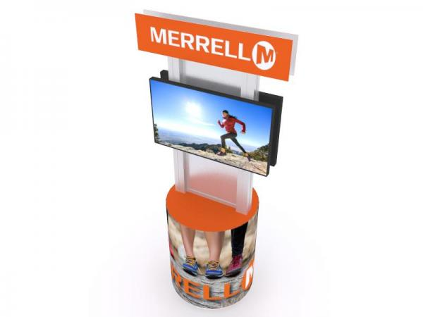 MOD-1538 Trade Show Monitor Stand -- Image 3
