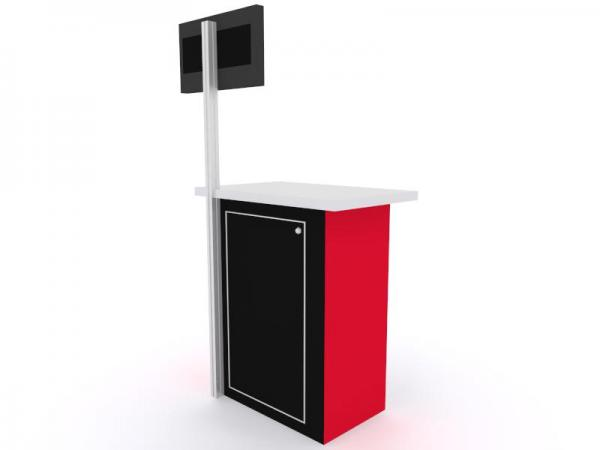 MOD-1527 Trade Show Monitor Stand -- Image 3