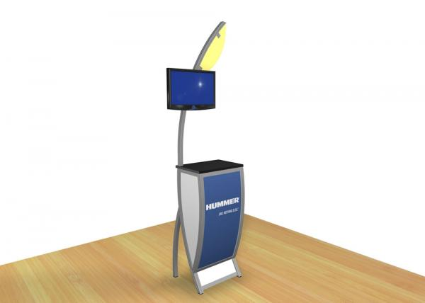 VK-1604 Trade Show Workstation or Kiosk  -- Image 1