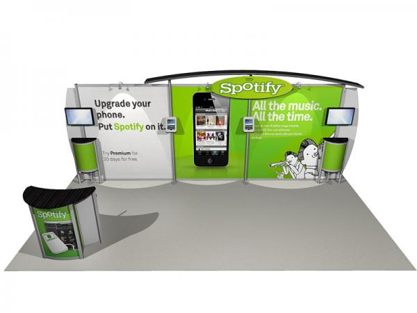 ECO-2043 eSmart Sustainable Trade Show Exhibit -- Image 1