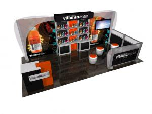 ECO-2064 Sustainable Tradeshow Display