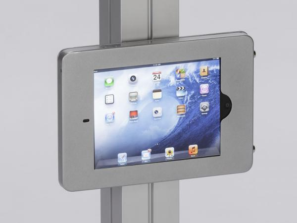 See the MOD-1318 for the Portable iPad Kiosk Version