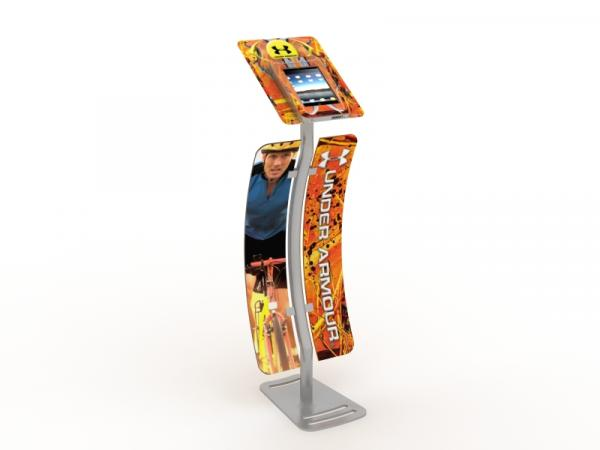 MOD-1339 iPad Kiosk with Graphics