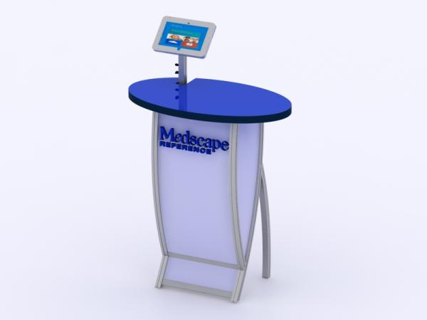 VK-1662M Tradeshow Workstation or Kiosk -- Image 4