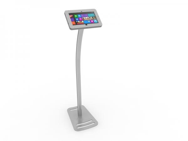 MOD-1333M Portable Surface 2 Kiosk -- Silver