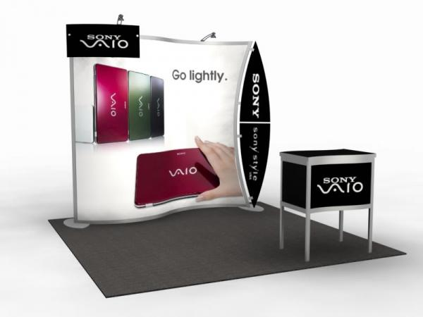 VK-1077 Magellan MOR Portable Trade Show Display  -- Image 1