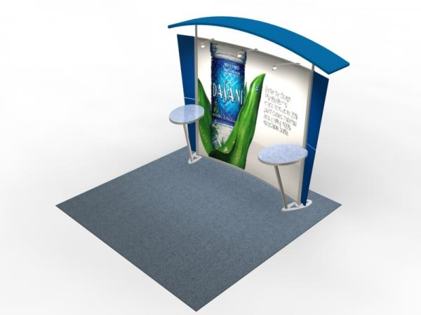 VK-1301 Trade Show Exhibit with Silicone Edge Graphics (SEG) -- Image 4
