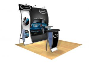 Perfect 10 VK-1505 Portable Hybrid Trade Show Display -- Image 1