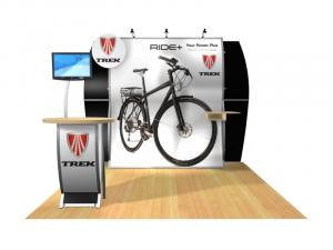 Perfect 10 VK-1513 Portable Hybrid Trade Show Display -- Image 2