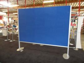 Two-sided Custom Board with Velcro-receptive Euro LT Fabric Panels -- Image 1