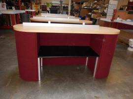 (5) Modified DI-626 Intro Oval Counters with Shelf and Counter Top Sign Holder -- Image 2