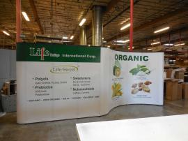 Custom Quadro S Pop Up Display with Mural Panels -- Image 2