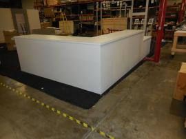 Custom Modular Euro LT Counter with Locking Storage and Internal Shelves -- Image 2