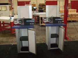 MOD-1234 Modular Workstation with Locking Storage -- Image 2