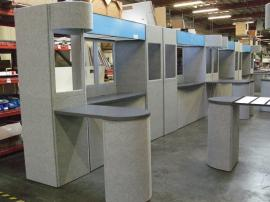 Multiple Intro Fabric Folding Panel Displays -- Image 2