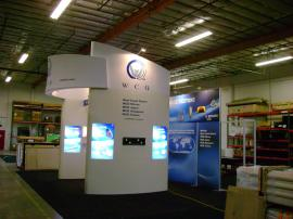 Euro LT Custom Modular Exhibit -- Configures into a 20 x 20 and 20 x 30 -- Image 1