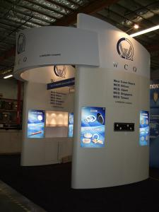 Euro LT Custom Modular Exhibit -- Configures into a 20 x 20 and 20 x 30 -- Image 4