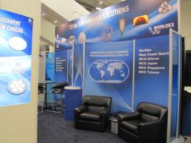 Visionary Designs and Euro LT Laminate Island Exhibit (Designed by Dimensional Dynamics) -- Image 5