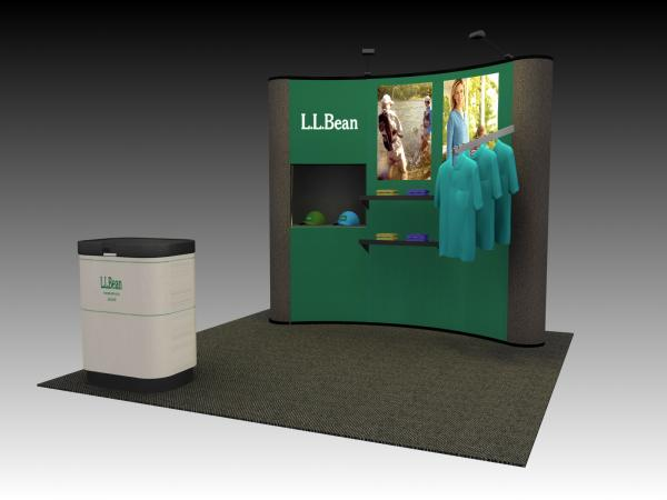 QD-110 Trade Show Popup Exhibit