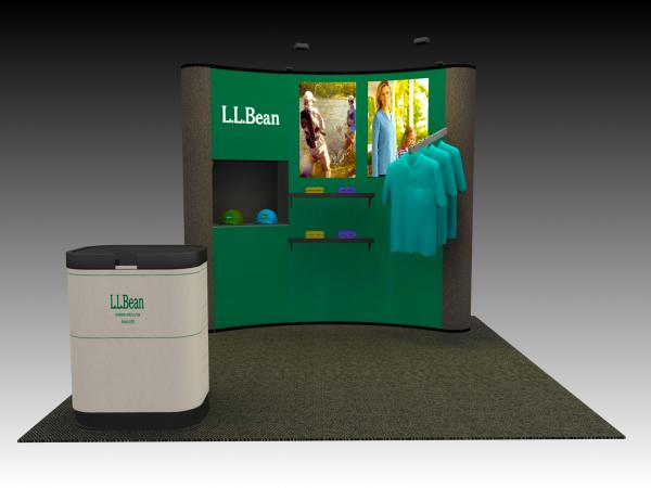 QD-110 Trade Show Popup Exhibit -- Image 1