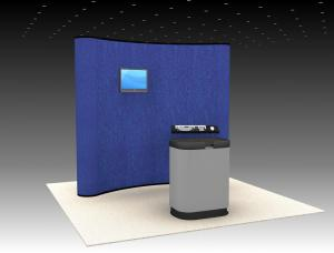QD-103 Trade Show Pop Up Display