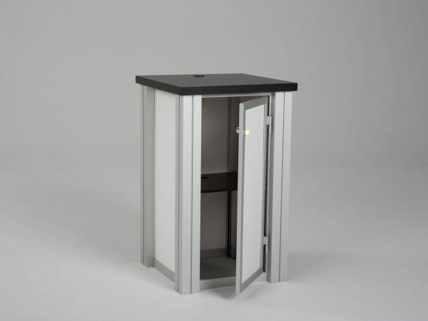 RE-1219 Rental Display / Square Pedestal Workstation -- Image 2