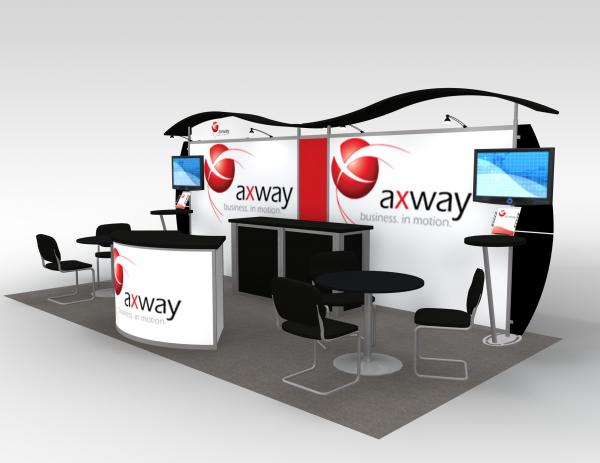 Axway Portable Hybrid Trade Show Exhibit -- Image 3